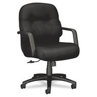 HON 2090 Pillow-Soft Managerial Mid-Back Swivel Tilt Chair  - 2092NT