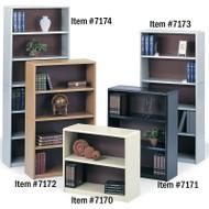 "Safco Value Mate Steel Bookcase 54"" 4-Shelf - 7172"