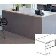 Mayline CSII Rectangular Desk with Box/Box/File Pedestal 30D x 60W - C1351