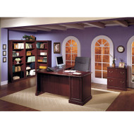 MONTHLY SPECIAL Bush Saratoga Collection L Shaped Executive Desk Collection - SARPackageB