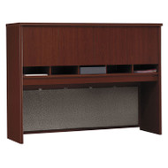 "Bush Business Furniture Series C Desk Hutch 4-Door 60"" Mahogany - WC36762K"