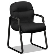 HON 2090 Pillow-Soft Series Guest Arm Chair, Black -  2093CU10T