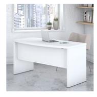 """Bush Echo Bow Front Desk 60"""" - KI60105-03"""