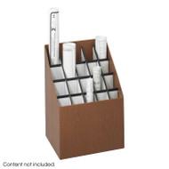 Safco Upright Roll File 20 Compartments - 3081