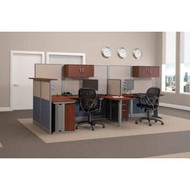 Bush Furniture Office-in-an-Hour Desk Workstation Reception Package - OIAH009HC