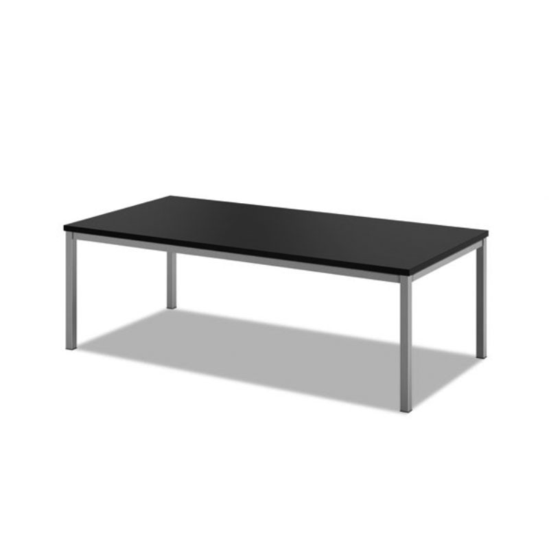 24 X 24 Coffee Table.Basyx By Hon Occasional Coffee Table 48 X 24 Black Hml8852p