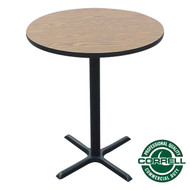 "Correll Bar and Cafe Breakroom Table - Bar Stool Height - Round 24"" - BXB24R"