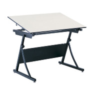 "Safco Planmaster Height-Adjustable 48"" Drafting Table - 3951-3957"