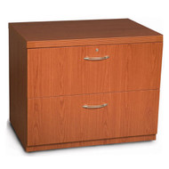 "Mayline Aberdeen Lateral File Cabinet 30"" Free Standing Cherry Finish - AFLF30-LCR"