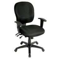 Raynor Racer Fabric Mid-Back Multifunctional Chair - FM4087