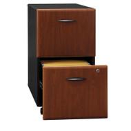 Bush Business Furniture Series A Mobile File Cabinet 2-Drawer Hansen Cherry Assembled - WC94452PSU
