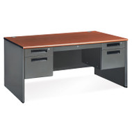 OFM Steel Double Pedestal Panel End Desk - 77360