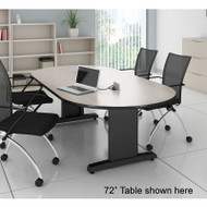 "Mayline CSII Conference Table Racetrack 120"" x 54"" - R125V"