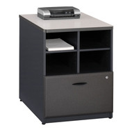 "Bush Business Furniture Series A Storage Cabinet 24"" Slate - WC84823P"