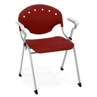 OFM Rico Stack Chair with Arms (Pack of 4) - 306