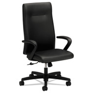 HON Ignition Series Executive High-Back Leather Chair Black - IE102SS11