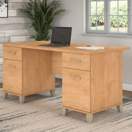 "Bush Somerset Collection Desk 60"" Maple Cross - WC81428K"