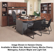 Bush Business Furniture Series C Package Executive U-Shaped Bowfront Desk - SC14