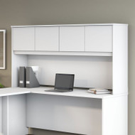 "Bush Business Furniture Studio C Hutch 72"" White - SCH172WH"