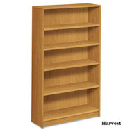HON 1890 Series Radius Edge Bookcase 5- Shelves - 1895