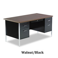 "Alera 60"" Double Pedestal Steel Desk - SD21-6030"