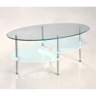 "Walker Edison Wave 38"" Coffee Table - C38B4"