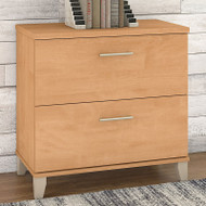Bush Somerset Collection Lateral File Cabinet Maple Cross - WC81480