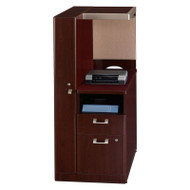 CLEARANCE! Bush Quantum Series Harvest Cherry Storage Cabinet Left - QT2836CSK
