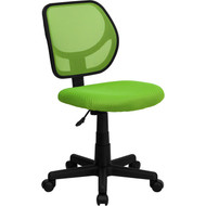 Flash Furniture Mid-Back Green Mesh Task Chair and Computer Chair - WA-3074-GN-GG