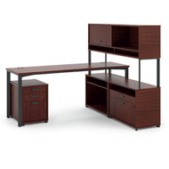 Basyx Manage Series L-Shaped Desk - MG4