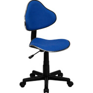 Flash Furniture Blue Fabric Ergonomic Task Chair - BT-699-BLUE-GG