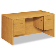 "HON 10500 Series Double 3/4 Pedestal Desk 60"", Assembled - 10573CC"
