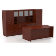 Mayline Aberdeen Executive Desk Package Cherry - AT9-LCR