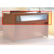 "Mayline Aberdeen Reception Transaction Counter 72"" Cherry - ARDTC-LCR"