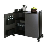 Mayline Hospitality Refreshment Mobile Cart - 1015HC