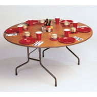 Correll Melamine Top Folding Table Round 48 - CF48MR