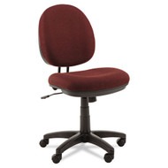Alera Interval Series Swivel Task Chair Burgundy - IN4831