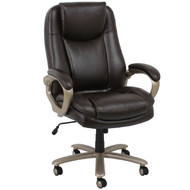 OFM Essentials Big and Tall Leather Executive Chair - ESS-201