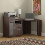 Bush Vantage Corner Computer Desk Harvest Cherry - HM66615A-03