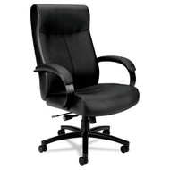 Basyx by HON Big & Tall Black Leather Chair - VL685SB11