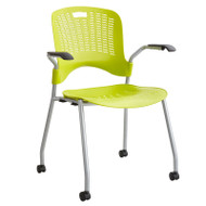 Safco Sassy Stack Chair (2-Pack) Grass - 4183GS