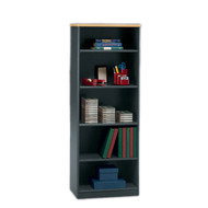 "Bush Business Furniture Series A Bookcase 5-Shelf 66"" Beech - WC14365"