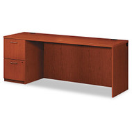 HON Park Avenue Laminate Collection Single Pedestal Credenza Left, Assembled - PC230LVJ