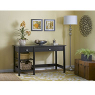 Bush Broadview Collection Open Storage Desk - BDD154EO-03