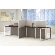 "Bush Furniture Easy Office Straight Desk 60"" 4-Person - EOD660MR-03K"
