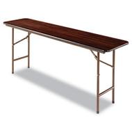 Alera Folding Table Mahogany - FT727218