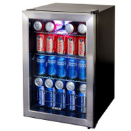 NewAir Beverage Cooler Refrigerator 84-Can Capacity - AB-850