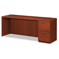 HON Park Avenue Laminate Collection Single Pedestal Credenza Right, Assembled - PC230RVJ