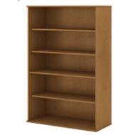 "Bush Business Furniture Bookcase 72""H 5 Shelf Natural Cherry - BK7236NC"