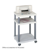 Safco Wave Desk Side Printer Stand - 1860GR